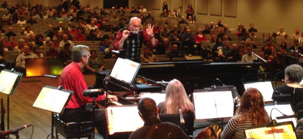 John Gage Conducting