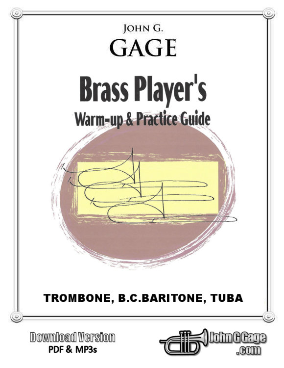 Brass Player's Warm-Up Book for Trombone
