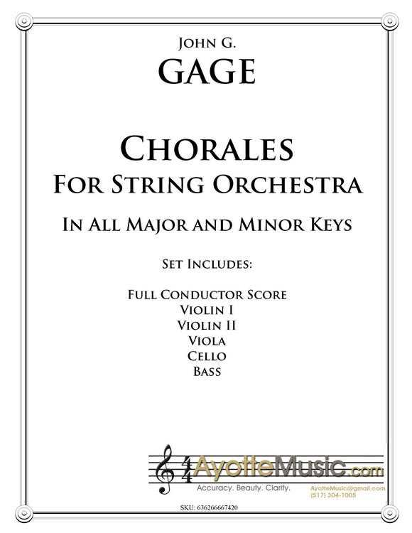 Chorales for String Orchestra