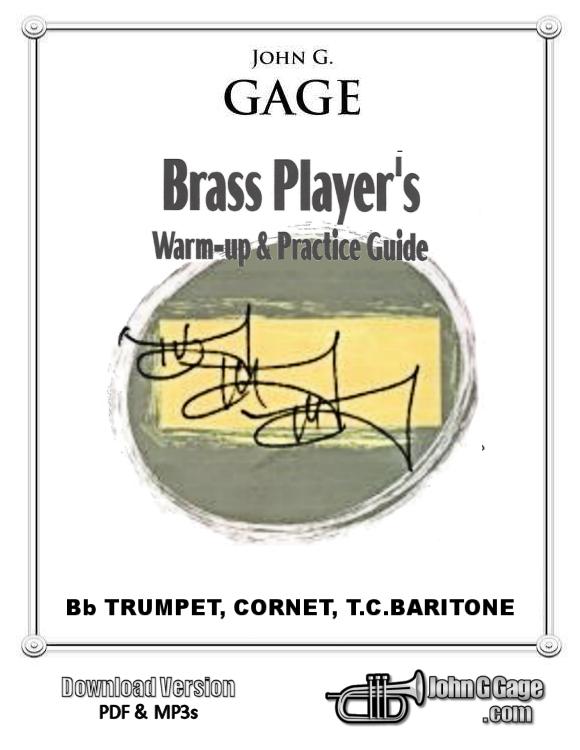 Brass Player's Warm-Up Book for Trumpet, Cornet, TC Baritone