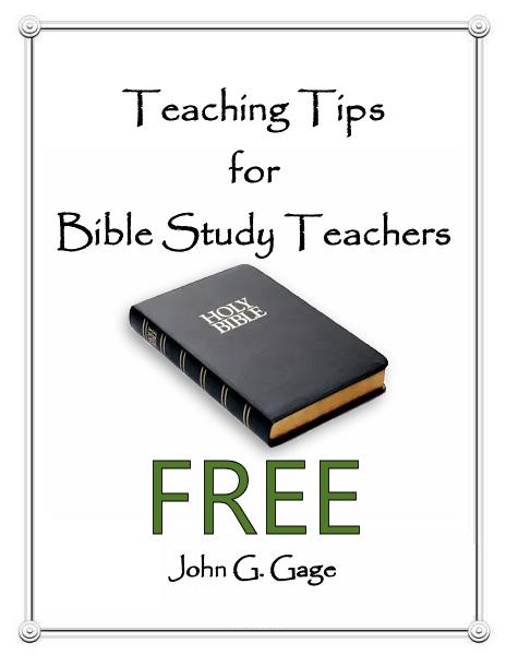 Teaching Tips for Bible Study Teachers
