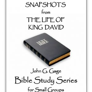 Small Group Bible Study - Snapshots from The Life of King David